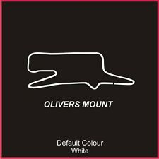 Olivers Mount Race Circuit Decal, Track, Vinyl, Sticker, Graphics, Car N2016