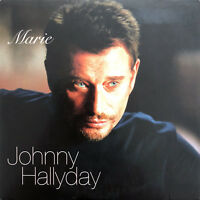 Johnny Hallyday CD Single Marie - Europe (VG+/EX+)