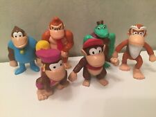 Lot 6 figurines NINTENDO Prime Choco Pops Kellogg's DONKEY KONG Junior COMPLETE