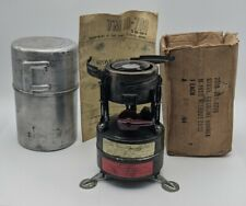 New listing Vintage Rogers M1950 Us Army Gas Field Stove Original Box dated Oct 1964 w/ box