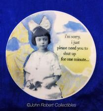ENESCO HOLY CRAP COASTERS SET OF 4: I JUST PLEASE NEED YOU TO SHUT UP ...