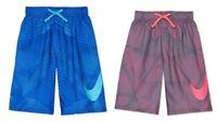 "Nike Printed 8"" Volley Swim Trunks Big Boys New"