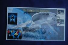 Star Trek Enterprise & Klingon Ship Stamps Fdc Bullfrog Cachet 09005 Sc# Pnc2