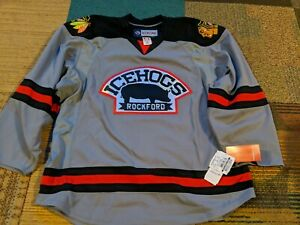 Rockford Icehogs Authentic Jersey CCM