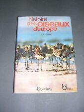 Ornithologie Yeatman histoire des oiseaux d'Europe Bordas 1971