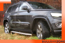 JEEP GRAND CHEROKEE WK2 2010-2013 MARCHE-PIEDS INOX PLAT / PROTECTIONS LATERALES