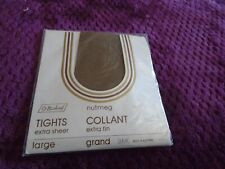 St Michael  extra sheer tights size large in