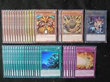 YU-GI-OH 40 CARD EXODIA THE FORBIDDEN ONE DECK  *READY TO PLAY*