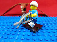 LEGO-MINIFIGURES SERIES 15 CLUMSY GUY 5,6,7,8,9,10.11.12.13.14[15] & LEAFLET