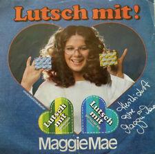 """7""""  1981 RARE ! MAGGIE MAE : Lutsch mit / RACHENGOLD"""
