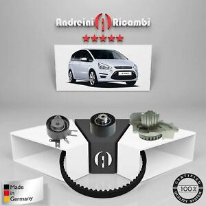 Kit Courroie de Distribution+Pompe à Eau Ford S-MAX 2.0 TDCI 100KW 136CV 2010->