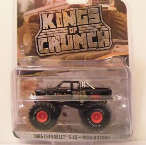 King of Crunch GREENLIGHT 2021 86' Chevy S-10 Push N Stomp Target Red Chase