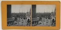 Venezia Italia Foto P39Ln11 Stereo Stereoview Vintage Analogica