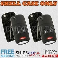 2 for 2004 2005 2006 2007 Chrysler Town and Country Remote Shell Case Cover