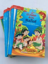 35 Count Unique Spanish Grade 4+ Guided Leveled Readers QRST Benchmark 40-50