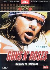 Guns N Roses DVD - Welcome To The Videos (NEW) / NO CASE (Only Cover & Disc)