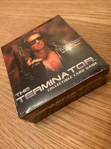 SEALED BOX OF 24 PACKS TERMINATOR FILM TRADING CARDS
