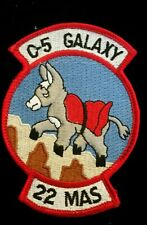 USAF C-5 Galaxy Transport Aircraft Unit Patch