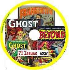 Frankenstein, Beyond & Ghost Comics on DVD 76 issues