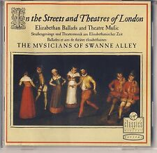 In the Streets and Theatres of London: Elizabethan Period (Virgin) Like New