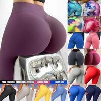 Women Anti-Cellulite Compression Push Up Yoga Pants Elastic Leggings Gym Tik Tok