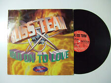 "Bliss Team ‎– Hold On To Love - Disco Mix 12"" 45 Giri Vinile ITALIA 1995 House"