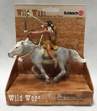 RETIRED Schleich Sioux Archer On Horse/Mustang 70301 Wild West Cowboy/Indian NEW