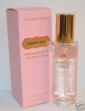 NEW VICTORIA'S SECRET SHEER LOVE EDT EAU DE TOILETTE PERFUME BODY SPRAY MIST 1OZ