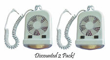 12 Volt Fan & Bunk Light Combo for Pop-up Campers - Discounted 2 Pack!