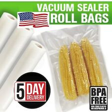 4PCS Food Bags Vacuum Sealer Rolls Food Saver Seal Storage Packaging For Kitchen