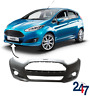 NEW FORD FIESTA 2013 - 2017 BARE PLAIN FRONT BUMPER WITH FOG LIGHT HOLES 1814802