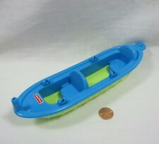 FISHER PRICE Loving Family Dollhouse BLUE KAYAK CANOE BOAT for CAMPERS CAMPING