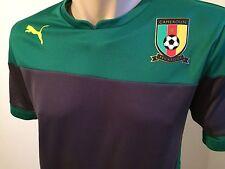 Shirt Cameroon Training Jersey Gr. XL Kamerun Herren Trikot Power Green Puma