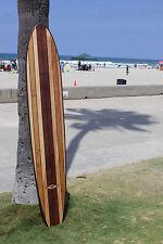 Wood Surfboard Bar Top Shower Vintage Hawaiian Tiki Bar Decor
