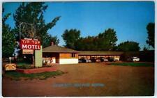 WOLF POINT, Montana  MT    Roadside  TIP TOP MOTEL  c1950s Cars  Postcard
