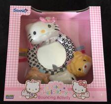 Hello Kitty Sanrio bébé activité miroir anneau Couette Hochet Brand New Toy