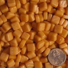 8mm Mosaic Glass Tiles - 2 Ounces About 87 Tiles - Cad Orange Yellow