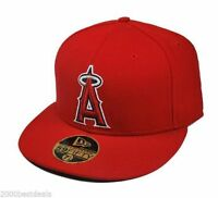 New Era 59Fifty Hat Mens Los Angeles Angels of Anaheim 2007 Collectibles Cap