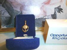 In Blue Velvet Box! Avon Door Knocker Pin New