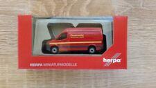 """Herpa 093941 - 1/87 Mercedes-Benz Sprinter Kasten Hochdach """"Feuerwehr"""" - Neu"""