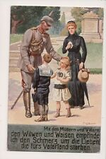 Vintage Postcard Kaiser Wilhelm II, German Emperor King of Prussia  WWI Military