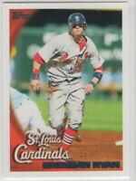 2010 Topps Baseball Saint Louis Cardinals Team Set Series 1 2 and Update
