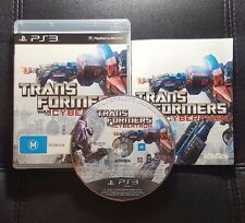 Transformers War for Cybertron (Sony PlayStation 3, 2010) PS3 - FREE POST