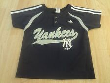 Youth New York Yankees M (5/6) Jersey (Navy Blue) Adidas Jersey