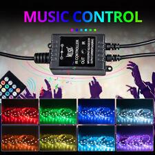 5050 RGB LED Strip Light TV PC Back Light Mood Multicolor with Remote Control