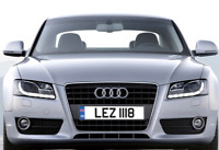 LEZ 1118 Les Lesley Dateless Cherished Personalised Registration Number Plate