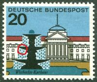 Bund 420 II Plattenfehler sauber postfrisch BRD 1964