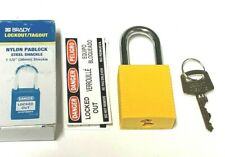 Brady 99570 Lockout Padlock Kd Yellow 1 34h