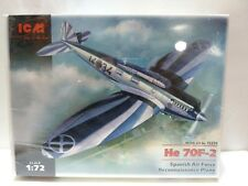 ICM 1/72 HEINKEL HE 70F-2 'SPANISH AIR FORCE RECON PLANE' KIT 72231