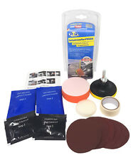 Auto Scheinwerfer Politur Set, Aufbereitung, Polierset für KFZ Frontscheinwerfer